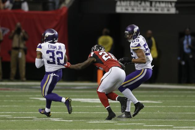 nfl LIMITED Minnesota Vikings Antone Exum Jerseys