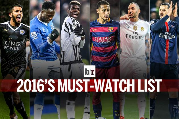 100 Players to Watch in World Football in 2016