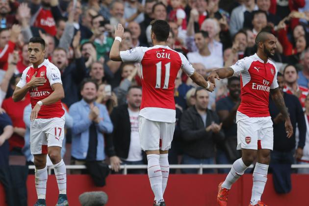 Ranking Arsenal's Top 5 Players for 2015