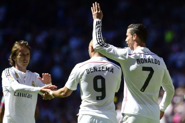 Ranking Real Madrid's Top 5 Players for 2015