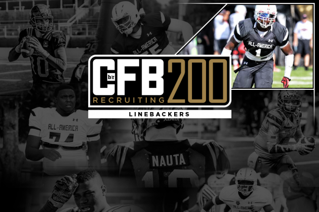 B/R CFB Recruiting 200: Top 21 Linebackers