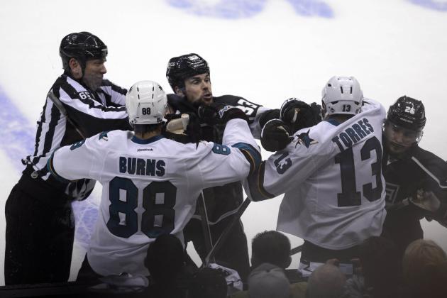 Ranking the Dirtiest Plays of the 2015-16 NHL Season so Far