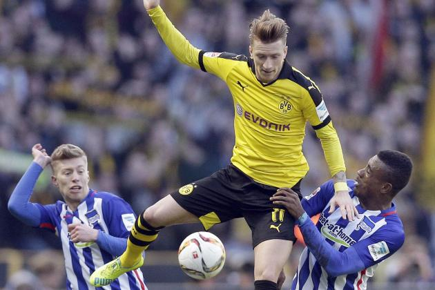 Hertha Berlin vs. Borussia Dortmund: Winners and Losers from Bundesliga