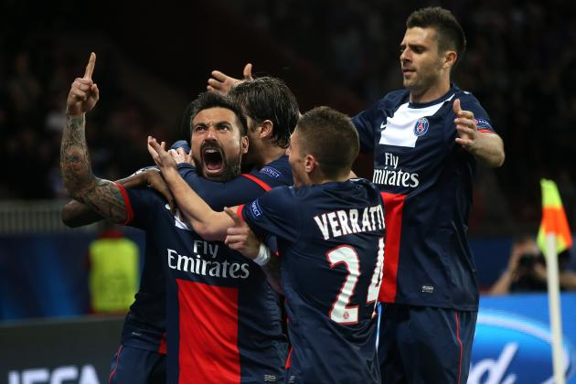 5 Great Goals from PSG vs. Chelsea Encounters
