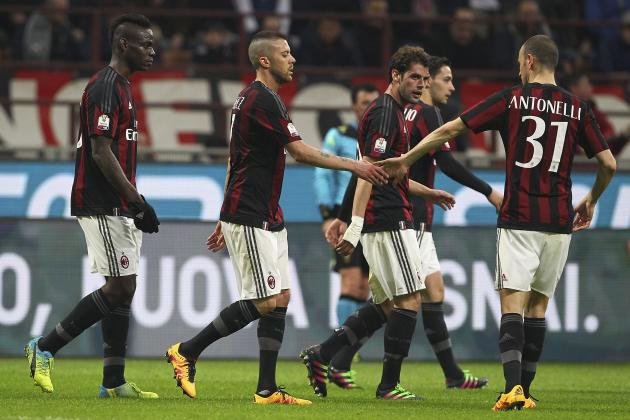 AC Milan vs. Alessandria: Winners and Losers from Coppa Italia