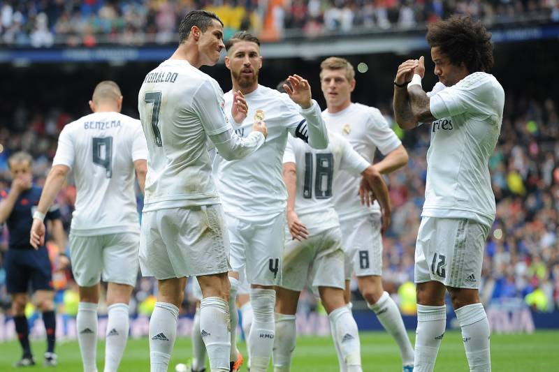 Power Ranking Every Real Madrid Player from the 2015-16 La Liga ...