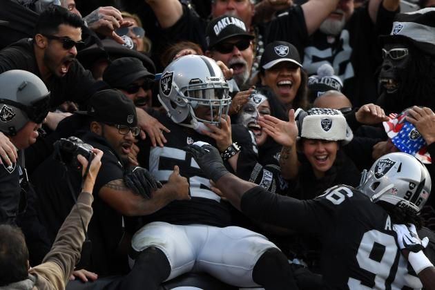 Monday Morning Digest: Raiders, Buccaneers Thrill in Scary NFL Thanksgiving Week