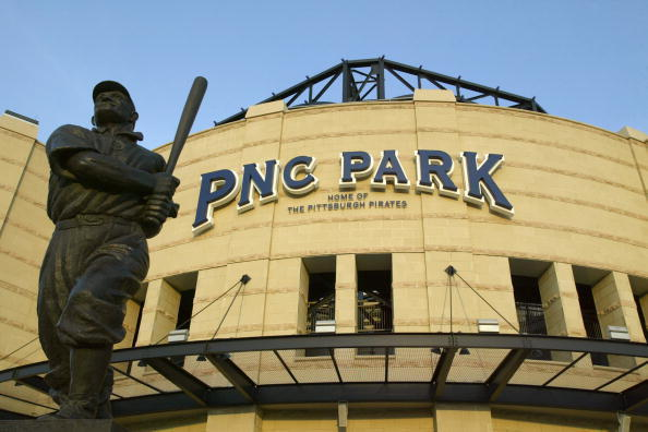 The Pittsburgh Pirates honored Honus Wagner with a statue outside PNC Park.