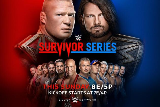 WWE Survivor Series 2017: B/R Expert Match Picks, Predictions and Analysis