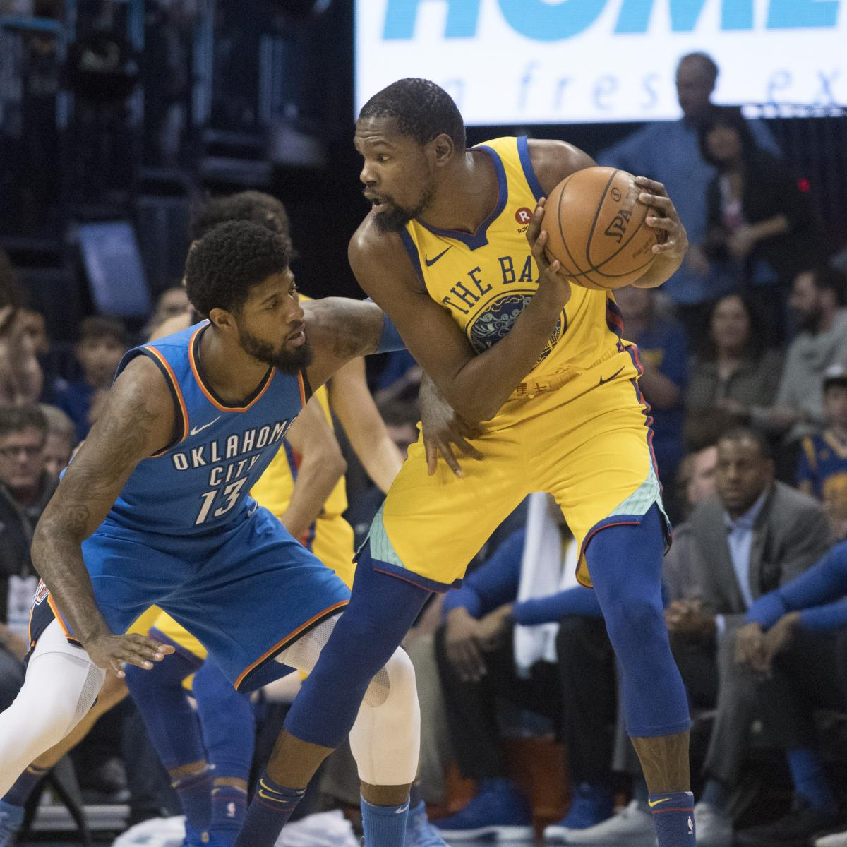 Ranking NBA's Top 15 Small Forwards Entering 2018-19 Season