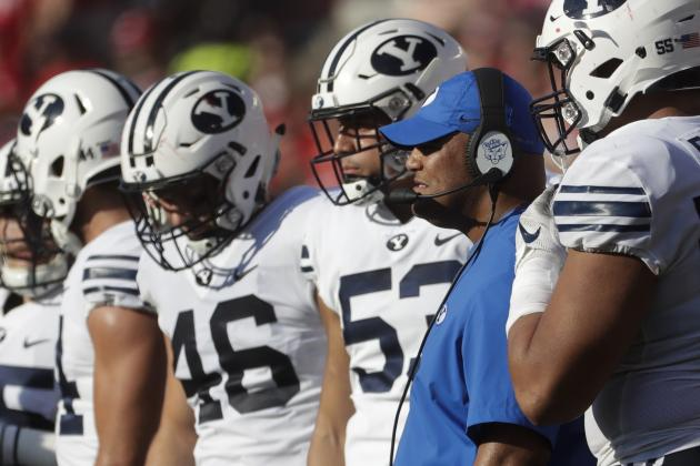 NCAA Football 2018 Rankings: Brigham Young Bringing the Noise