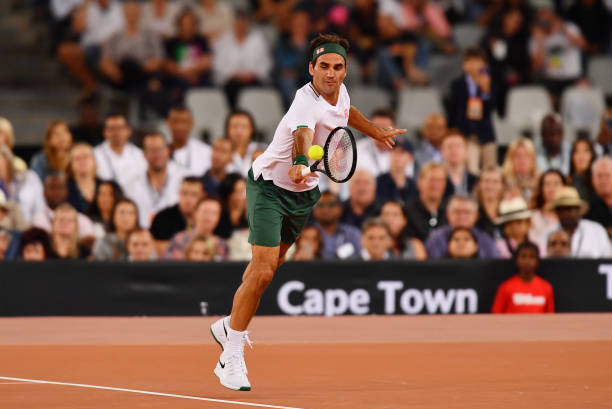 Roger Federer Beats Rafael Nadal In Charity Exhibition At Cape