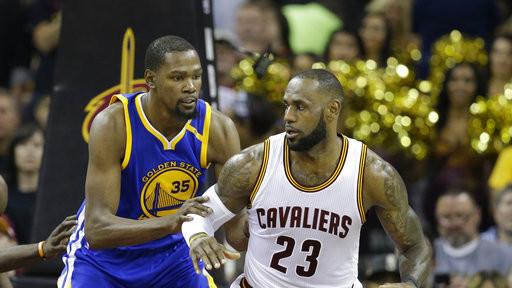 detailed look 1a425 cf95c Cavaliers vs. Warriors  Game 4 Live Updates, Score and Analysis for 2017  NBA Finals   Bleacher Report   Latest News, Videos and Highlights