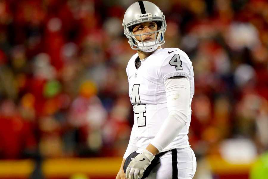 Bleacher Report | Dismal Showing vs. Chiefs Costs Carr MVP Candidacy