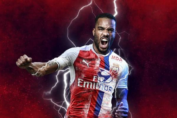 Alexandre Lacazette Arsenal