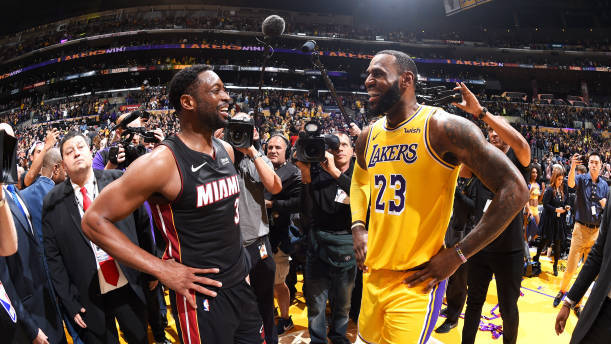 4fc675e9e7a Dwyane Wade Knew LeBron James   Ultimate Goal  Was to Sign with LA ...