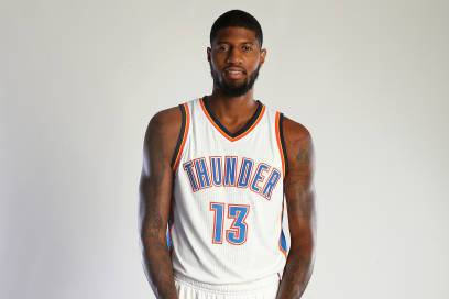 Image result for paul george thunder photoshoot