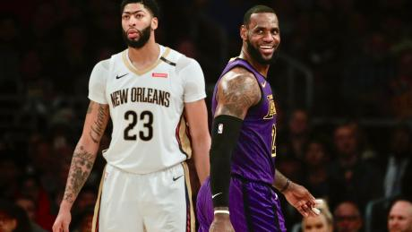 Anthony Davis trade winners and losers