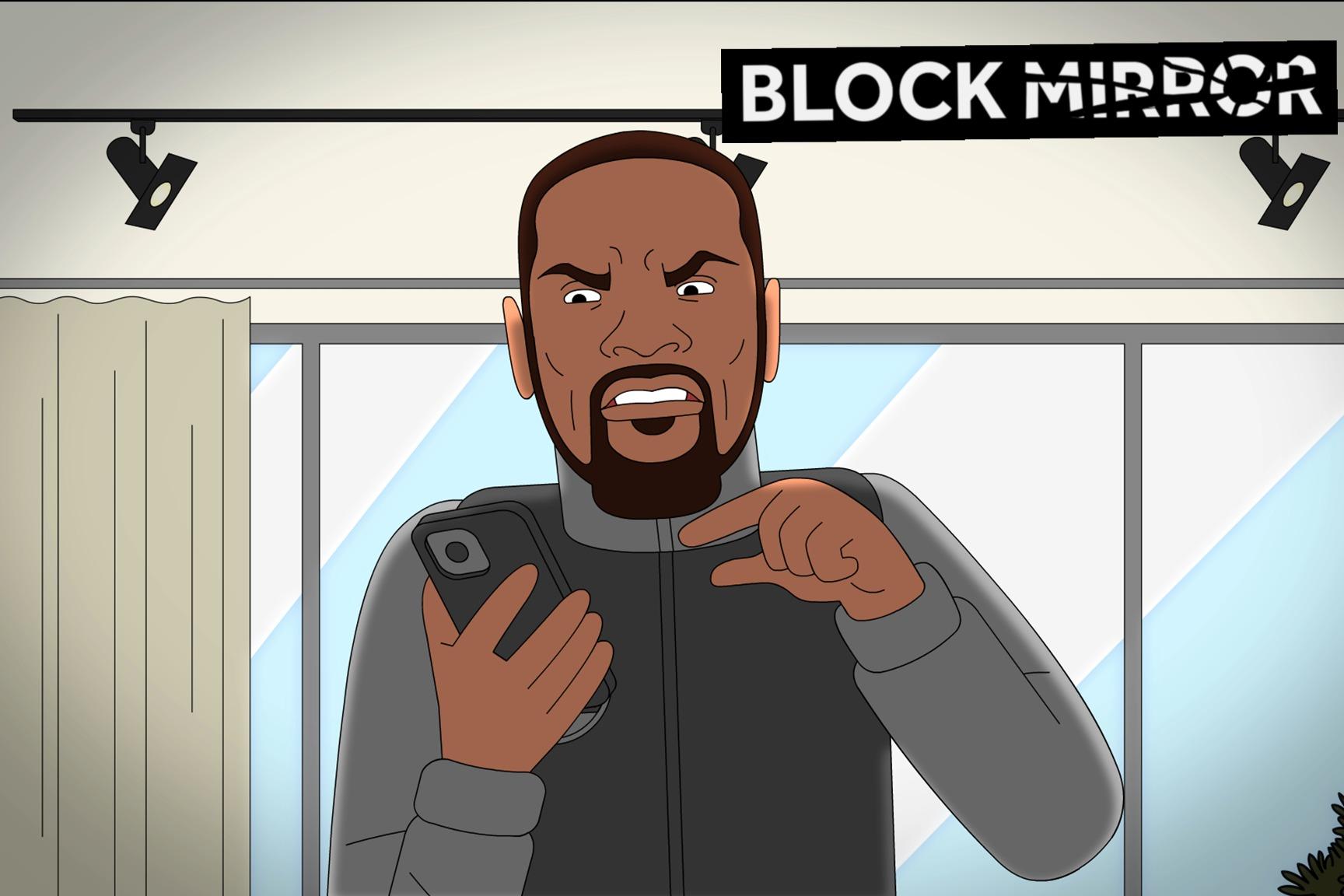 KD Stars in 'Block Mirror' thumbnail