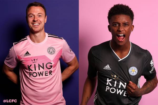 e08e4758465 Leicester Drop New Away Kits