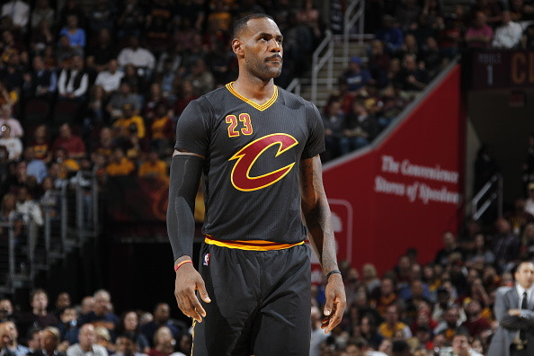 UNINTERRUPTED  LeBron James Says How He Feels About the Cavs  Sleeved  Jerseys  919691d3a417