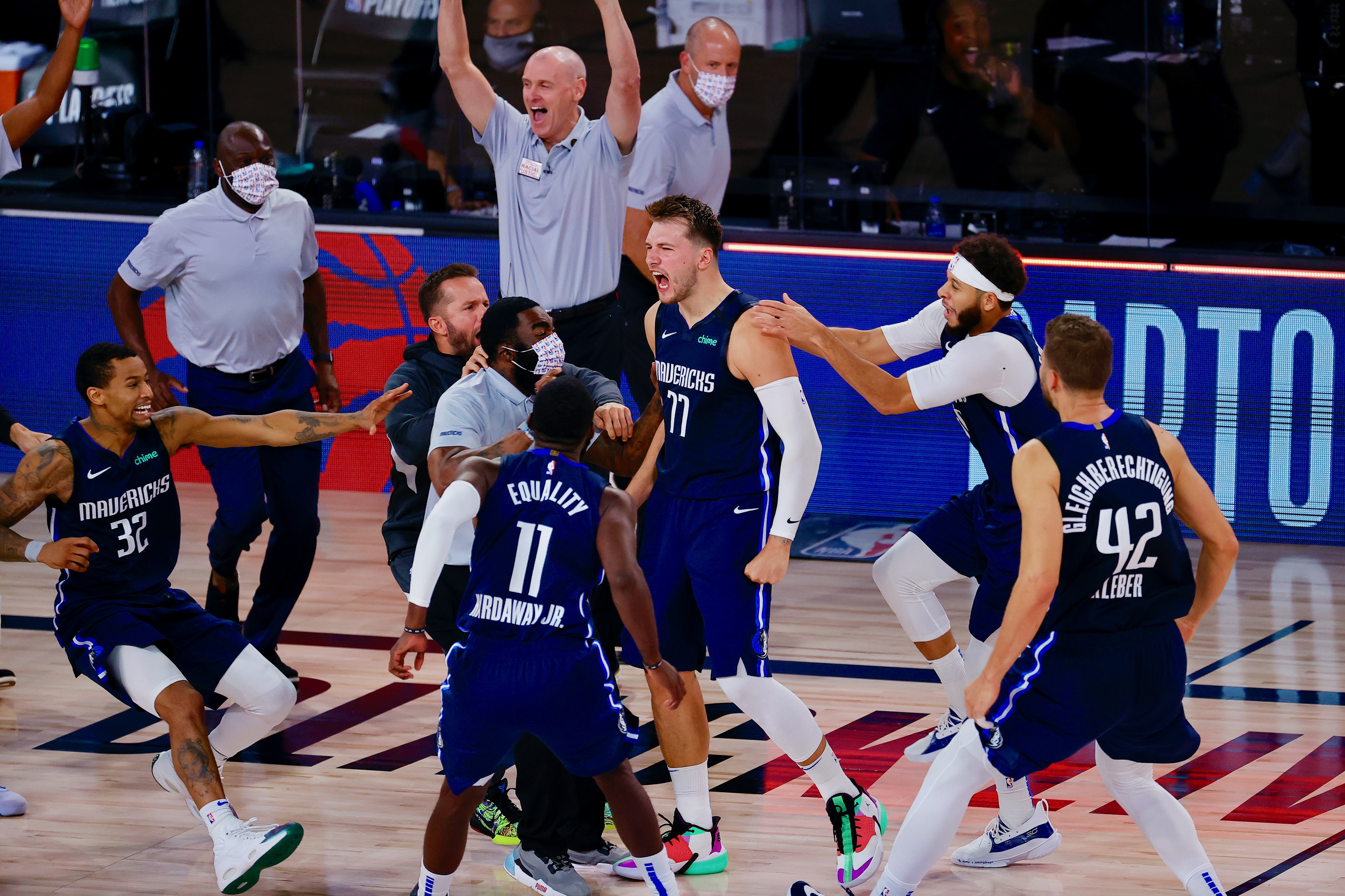 Luka Doncic Hits Game Winner Drops 43 Point Triple Double As Mavs Top Clippers Bleacher Report Latest News Videos And Highlights