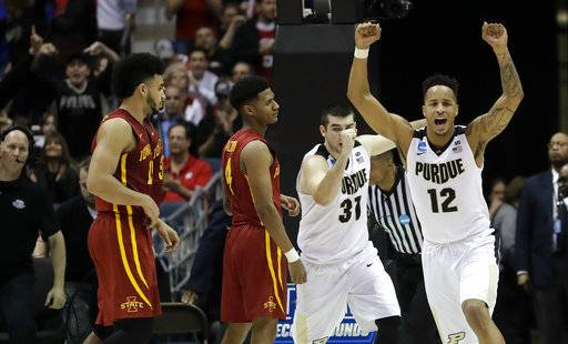 Iowa state basketball news recruiting and more bleacher report purdue hangs on for wild win vs iowa statevia bleacher report publicscrutiny Images