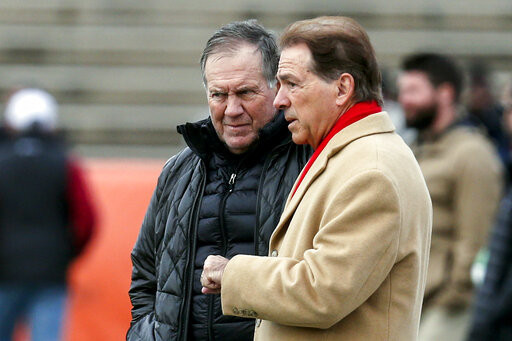 Belichick and Saban Catch Up