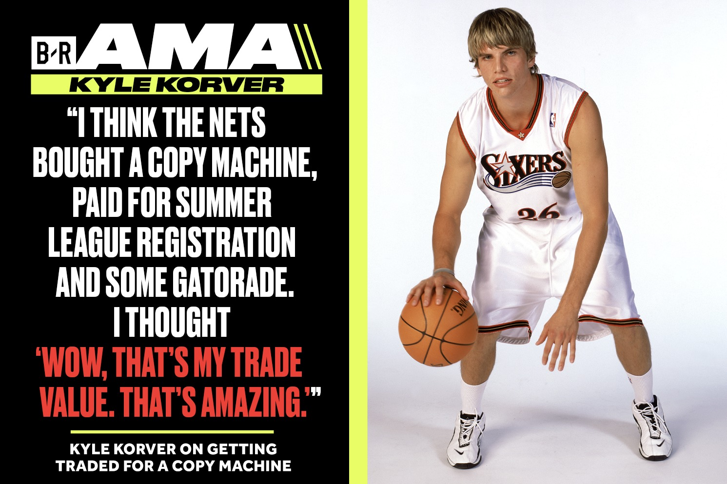 Korver on Being Traded for Copy Machine