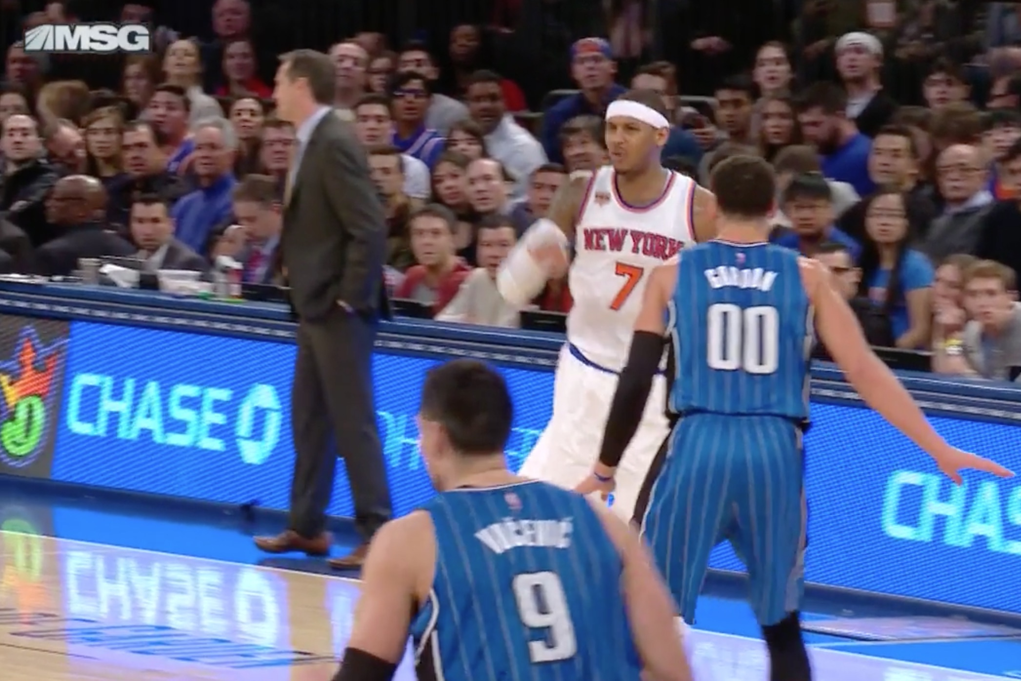 Image result for carmelo anthony jeff hornacek gif