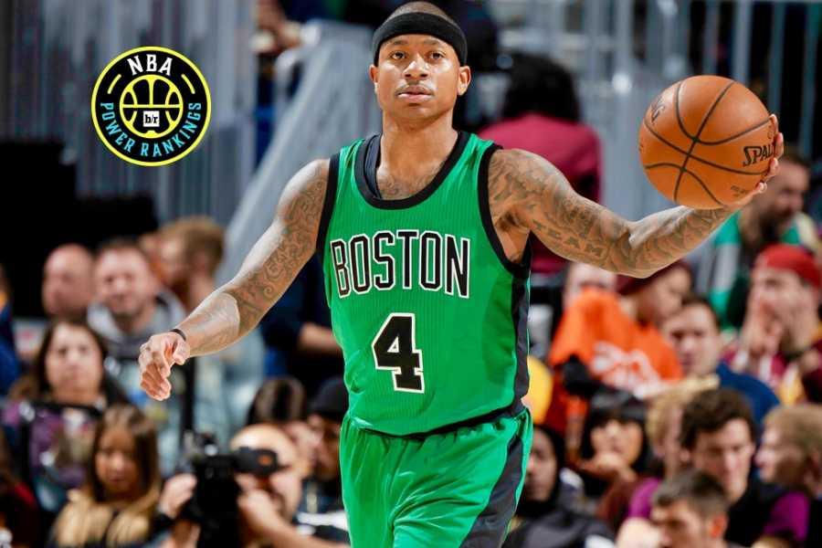 Bleacher Report | NBA Power Rankings: C's Crack Top 5