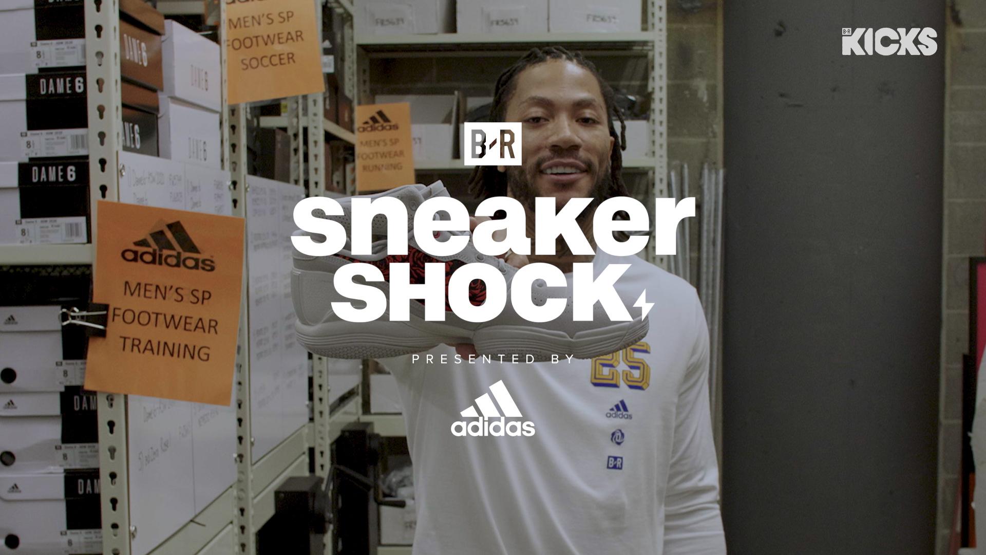Sneaker Shock with Derrick Rose ✊