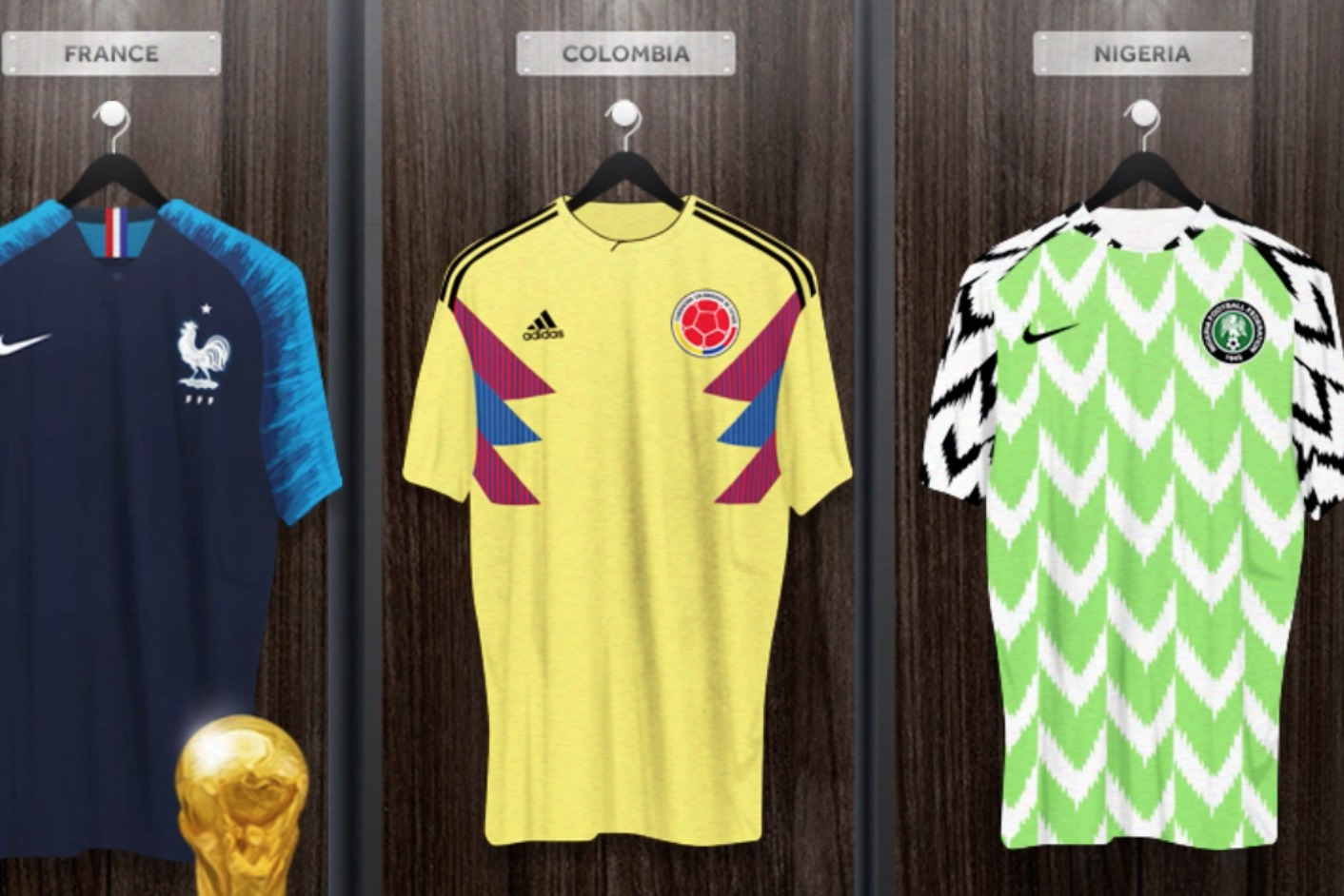 Ranking The Best 10 Kits At The World Cup Bleacher Report Latest