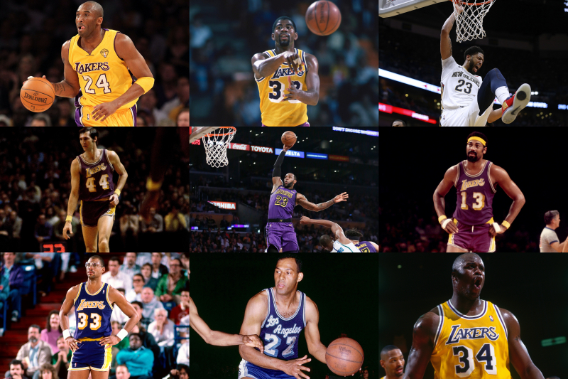 What's Your All-Time Lakers Starting 5?