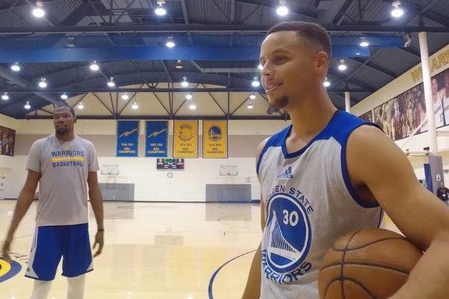 Bleacher Report | Exclusive: Steph vs. Durant in P-I-G