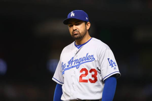 new products a9f9a ef222 Adrian Gonzalez | Bleacher Report | Latest News, Videos and ...