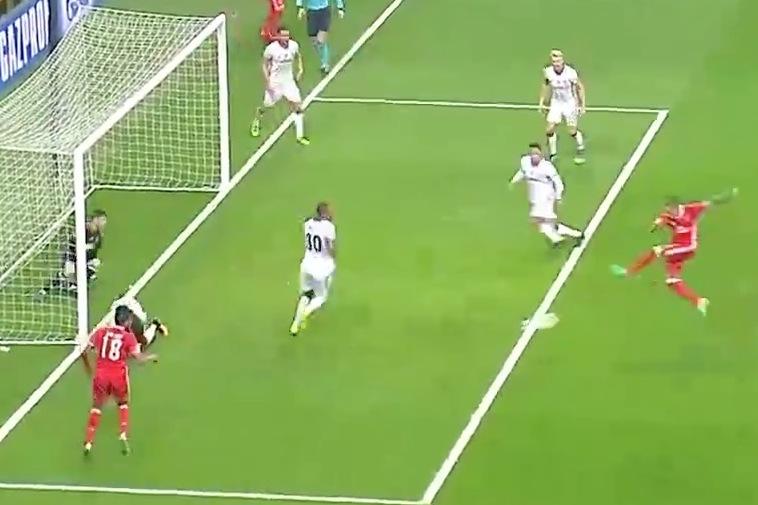 Bleacher Report   Benfica Playing Pinball with Besiktas Goal