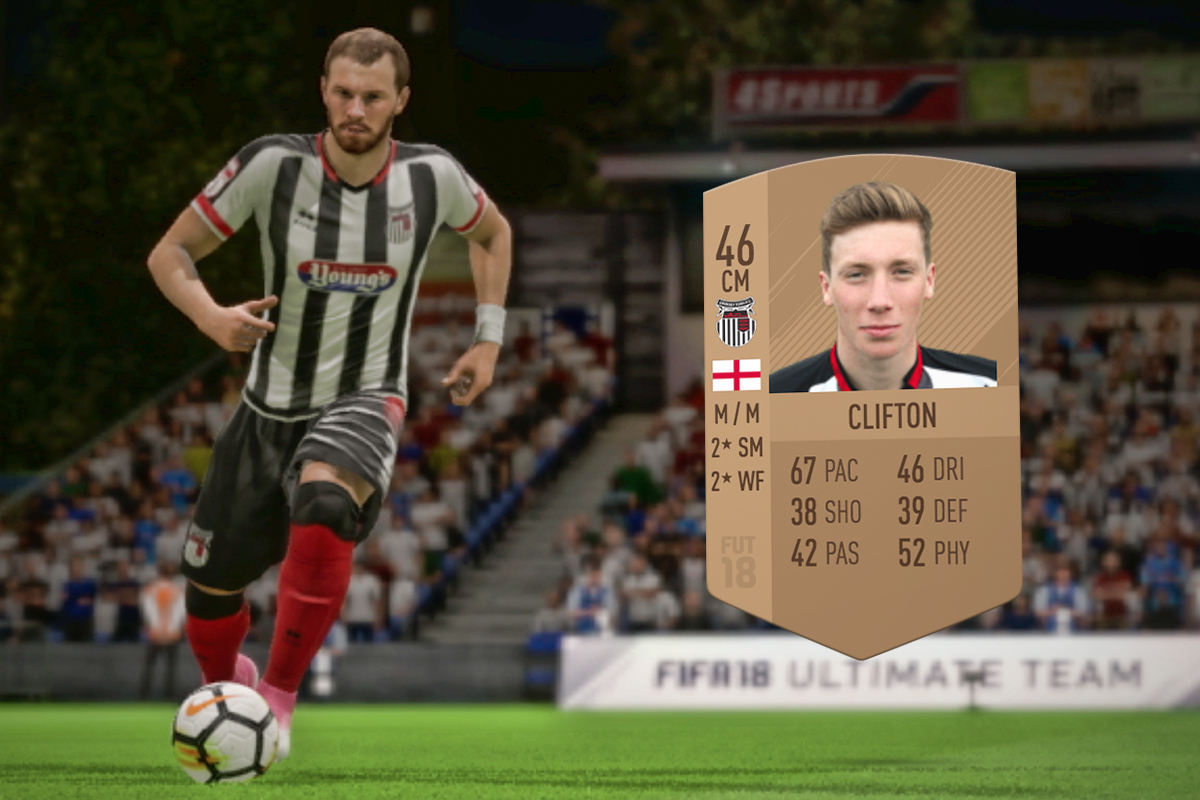 bd7f8b3edcf FIFA 46 Club  We Meet the Lowest-Rated Players on FIFA 18