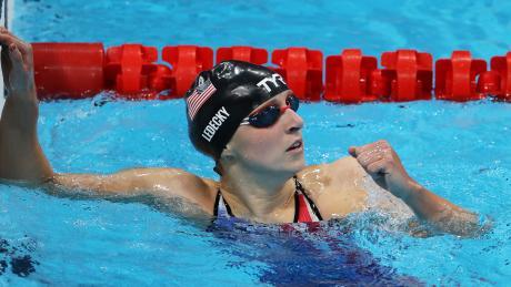 Katie Ledecky wins second gold in Tokyo