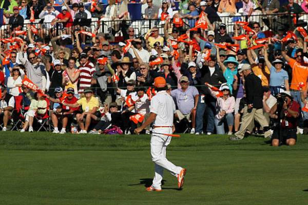 845498eb043 Fowler to Wear Orange, Despite Northern Irish Divide. Rickie Fowler logo