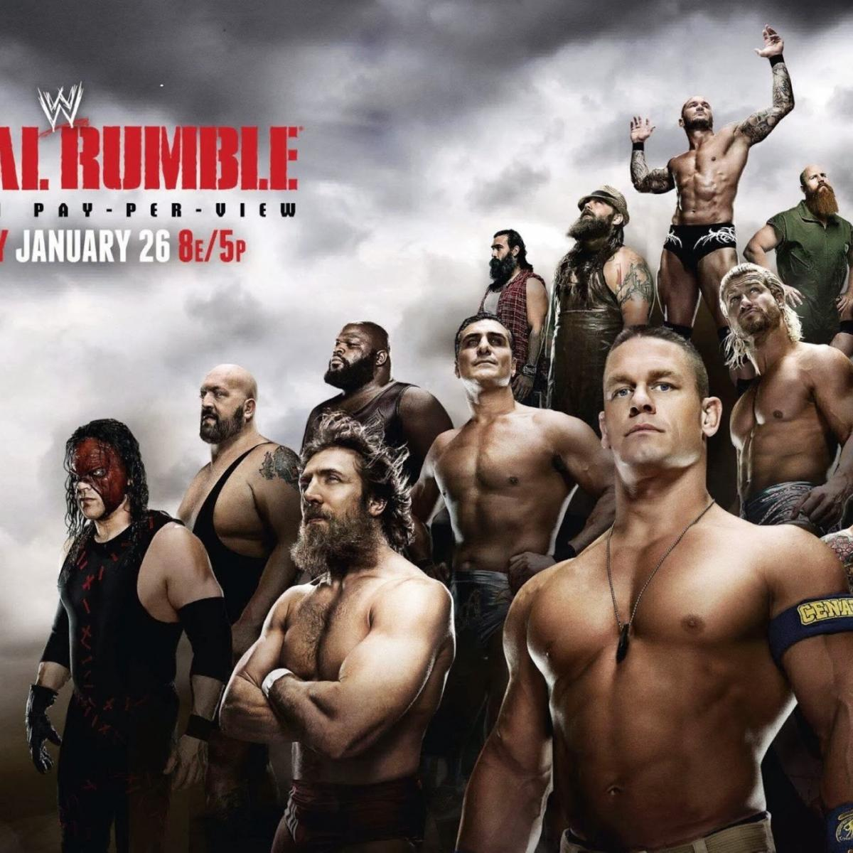 WWE Royal Rumble 2014: Power Ranking Likely Rumble Winners