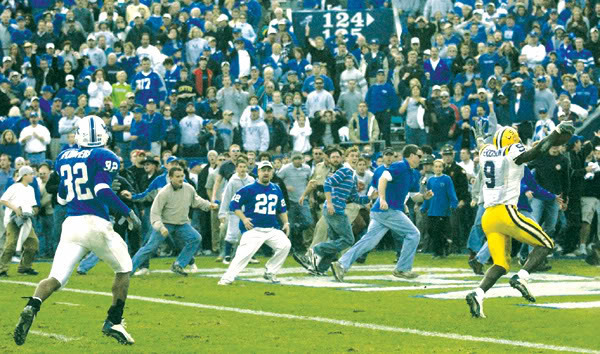 Classic SEC Football: LSU Tops Kentucky in 'The Bluegrass Miracle ...