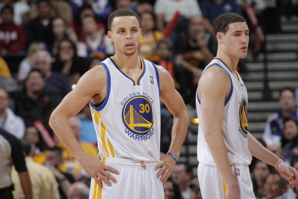 99986c106926 Can Stephen Curry and Klay Thompson Be NBA s Best Shooting Backcourt ...