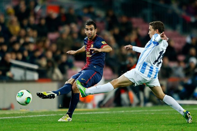 hi res 159968736 martin montoya of barcelona fc competes for the