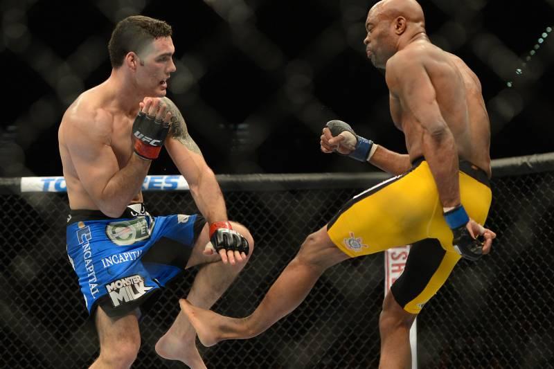 UFC 168: How Chris Weidman Buried the Legend   Bleacher Report ...