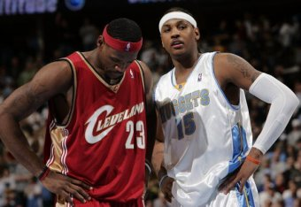 46ef4a21ae2 Remember When LeBron James vs. Carmelo Anthony Was a Debate? | Bleacher  Report | Latest News, Videos and Highlights