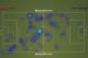 Wayne Rooney heatmap - wasted in midfield