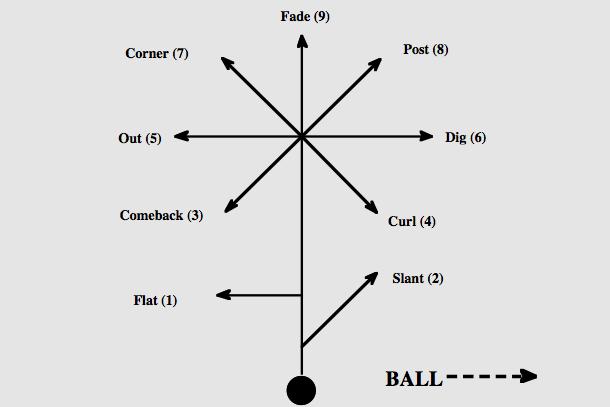NFL 101: Breaking Down the Basics of the Route Tree | Bleacher