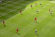 Liverpool's defensive 4-3 set was never troubled wide and stayed narrow.