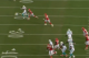 Tannehill's ball placement was much improved in Week 3. This ball was dropped by Brandon Gibson